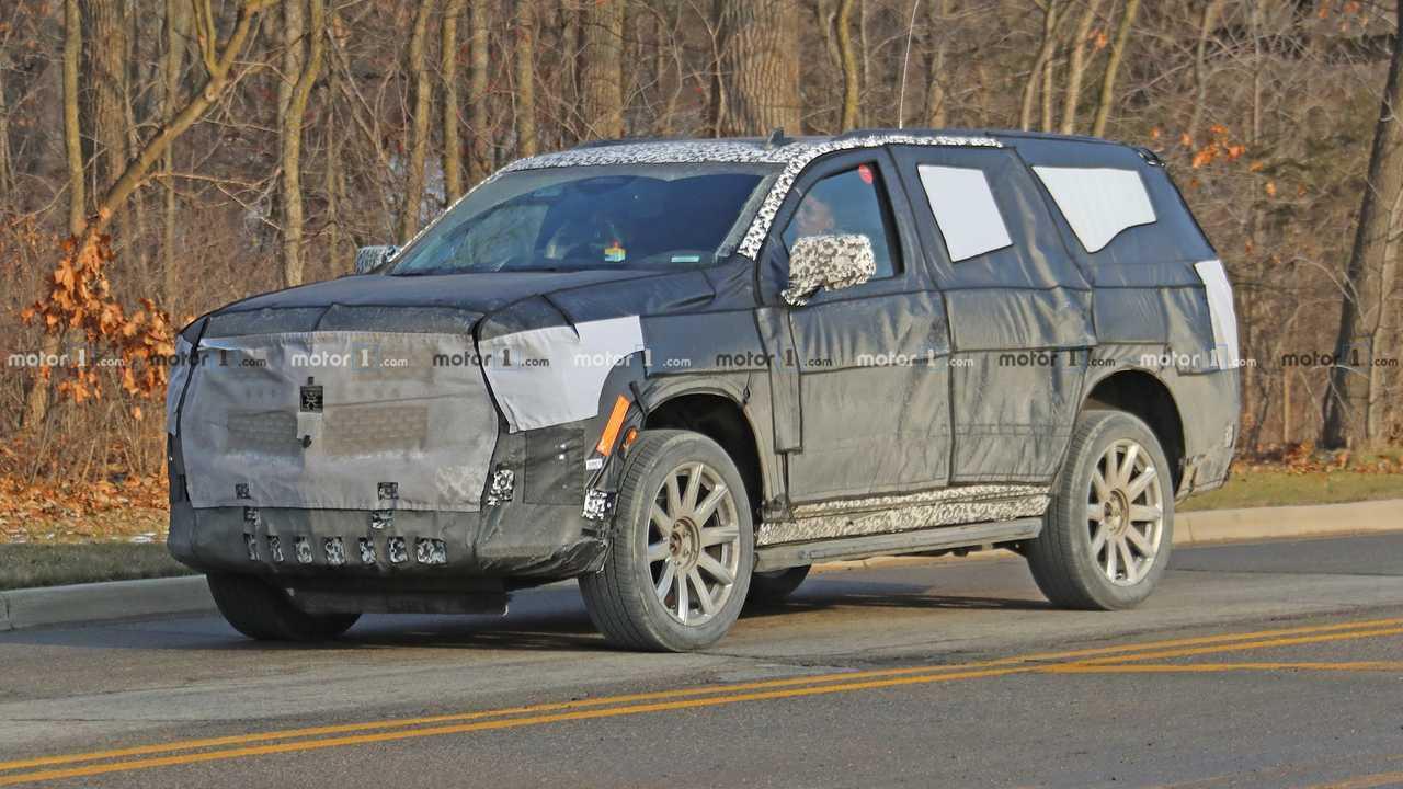 Премьера нового Cadillac Escalade отложена