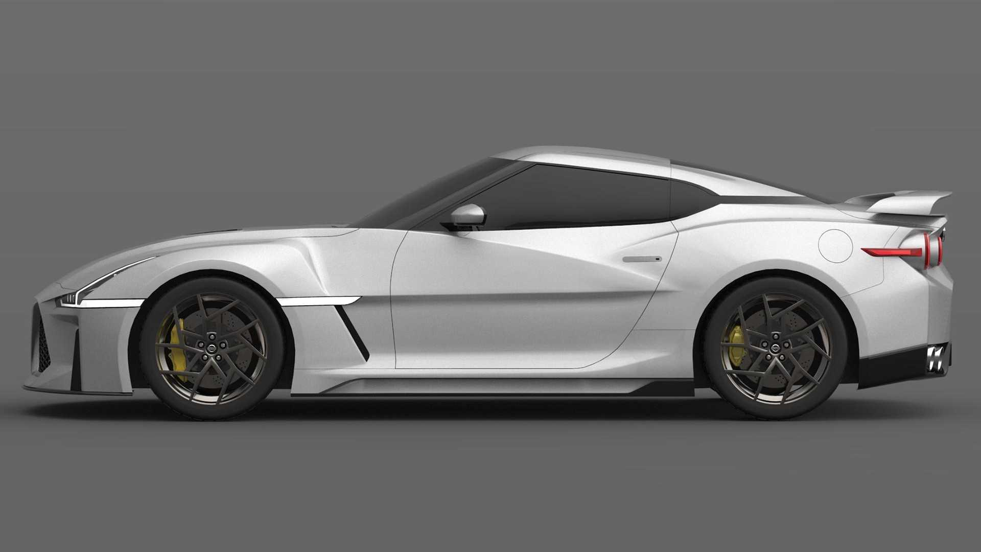 2021 NIssan GT-R Render | Motor1.com Photos