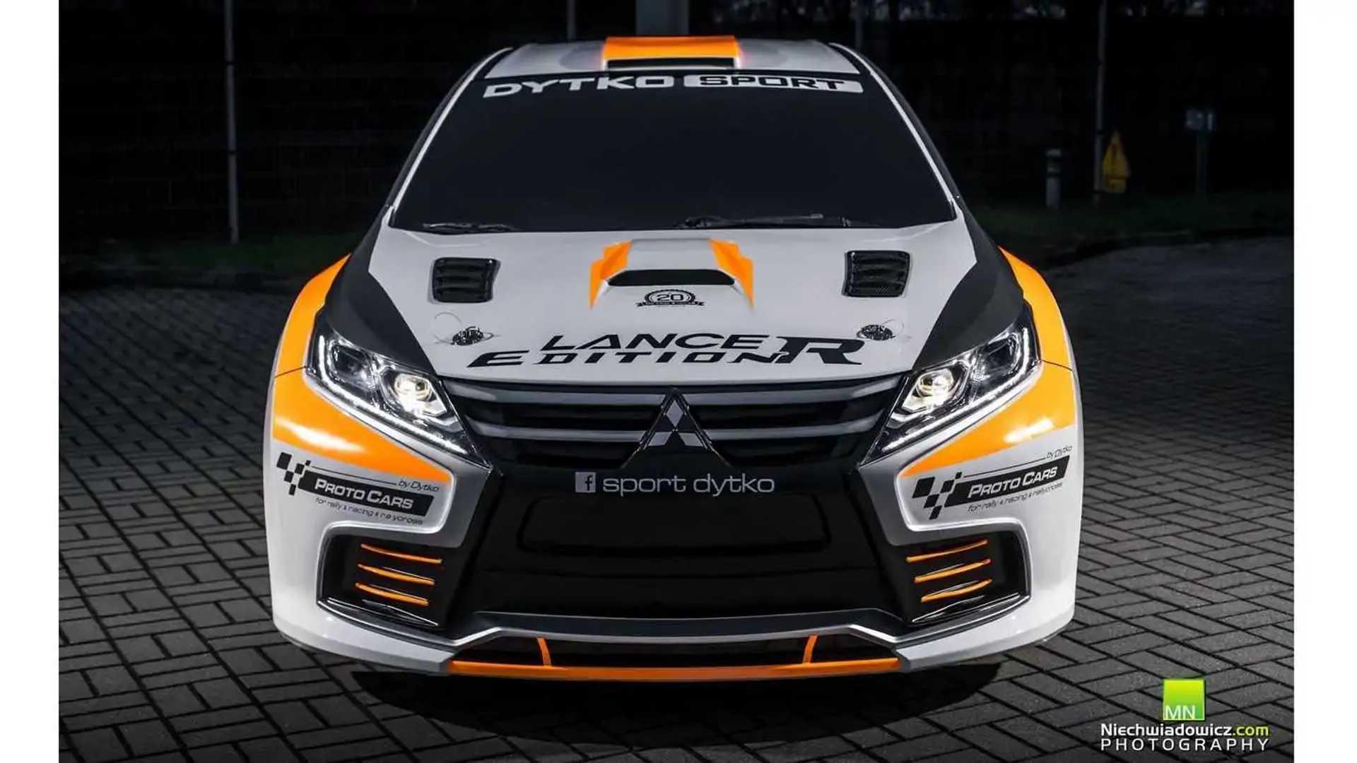 The New Identity Mitsubishi Lancer Evo Edition R By Dytko Sport