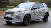 Land Rover Discovery Facelift Spy Shots
