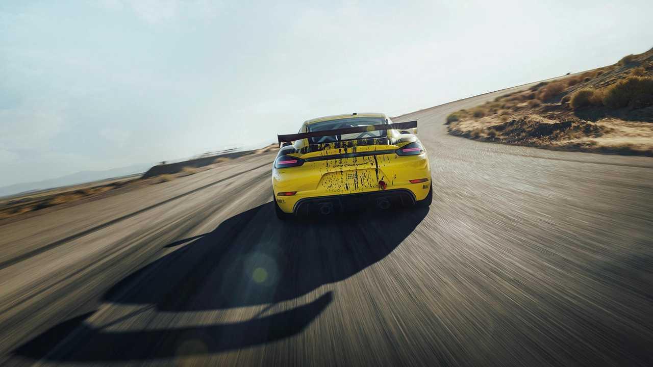 Nuevo Porsche 718 Cayman GT4 Clubsport