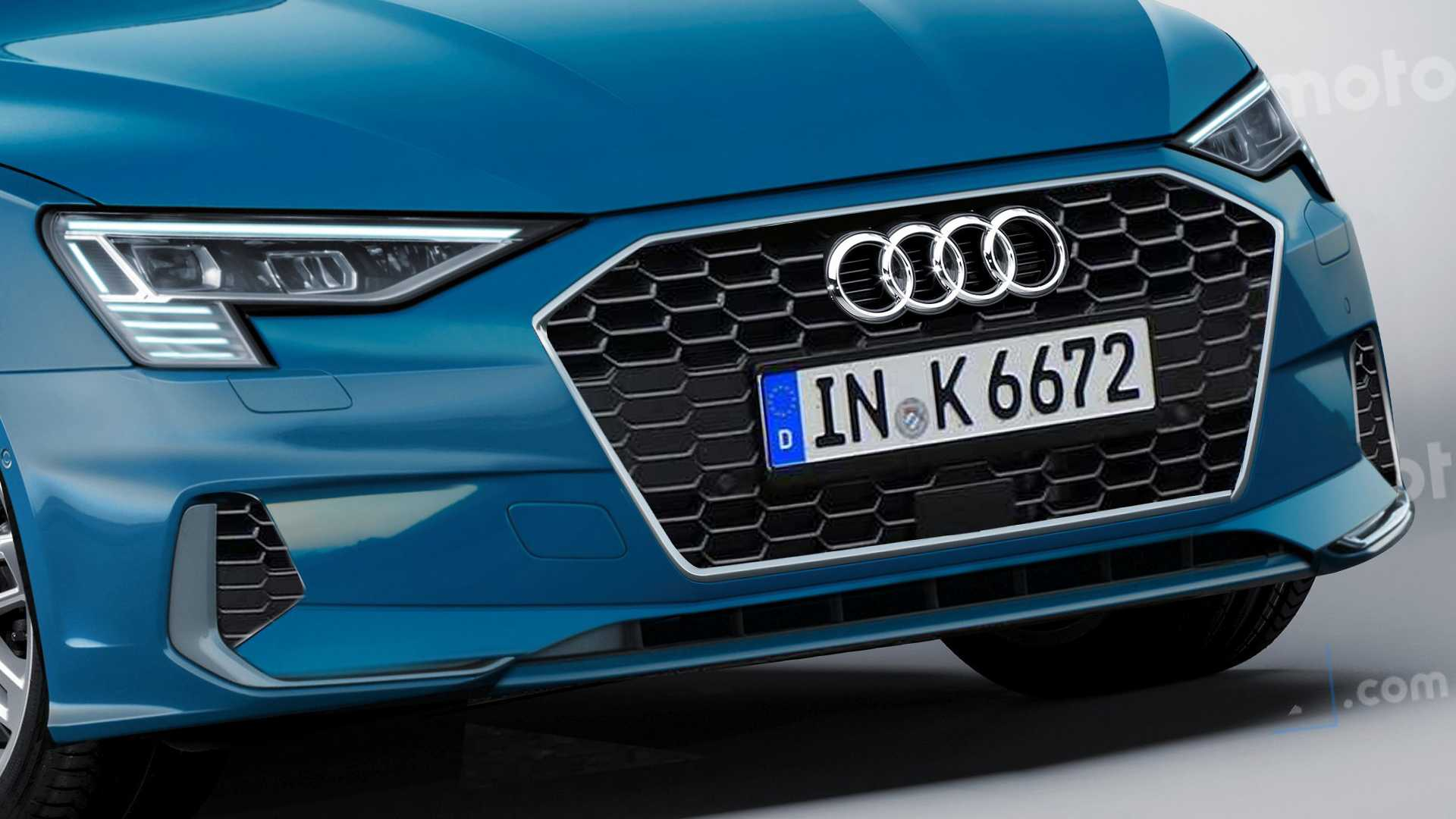 2020 Audi A3 Sportback Render Takes Off The Camouflage