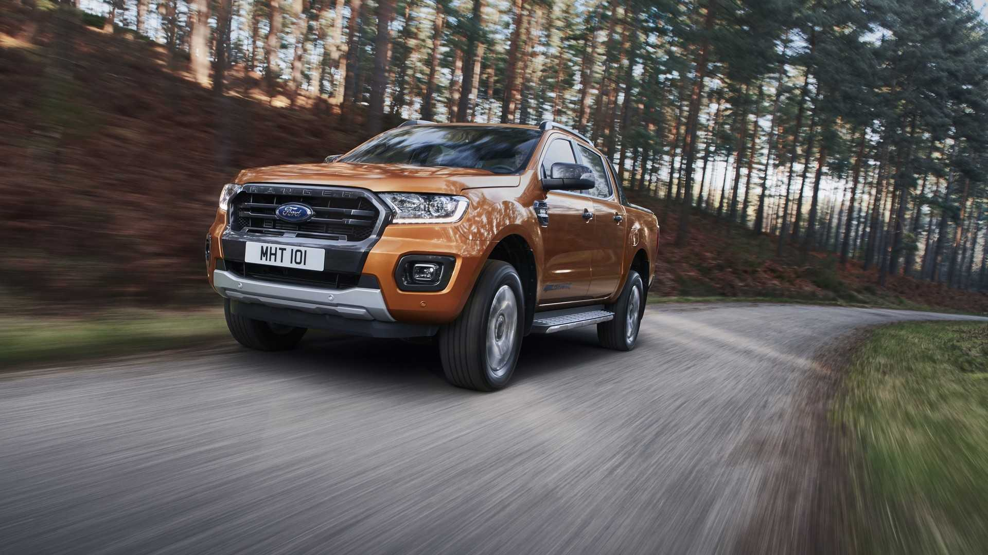 Ford Ranger Refreshed For Europe, Gets New Diesel Engine