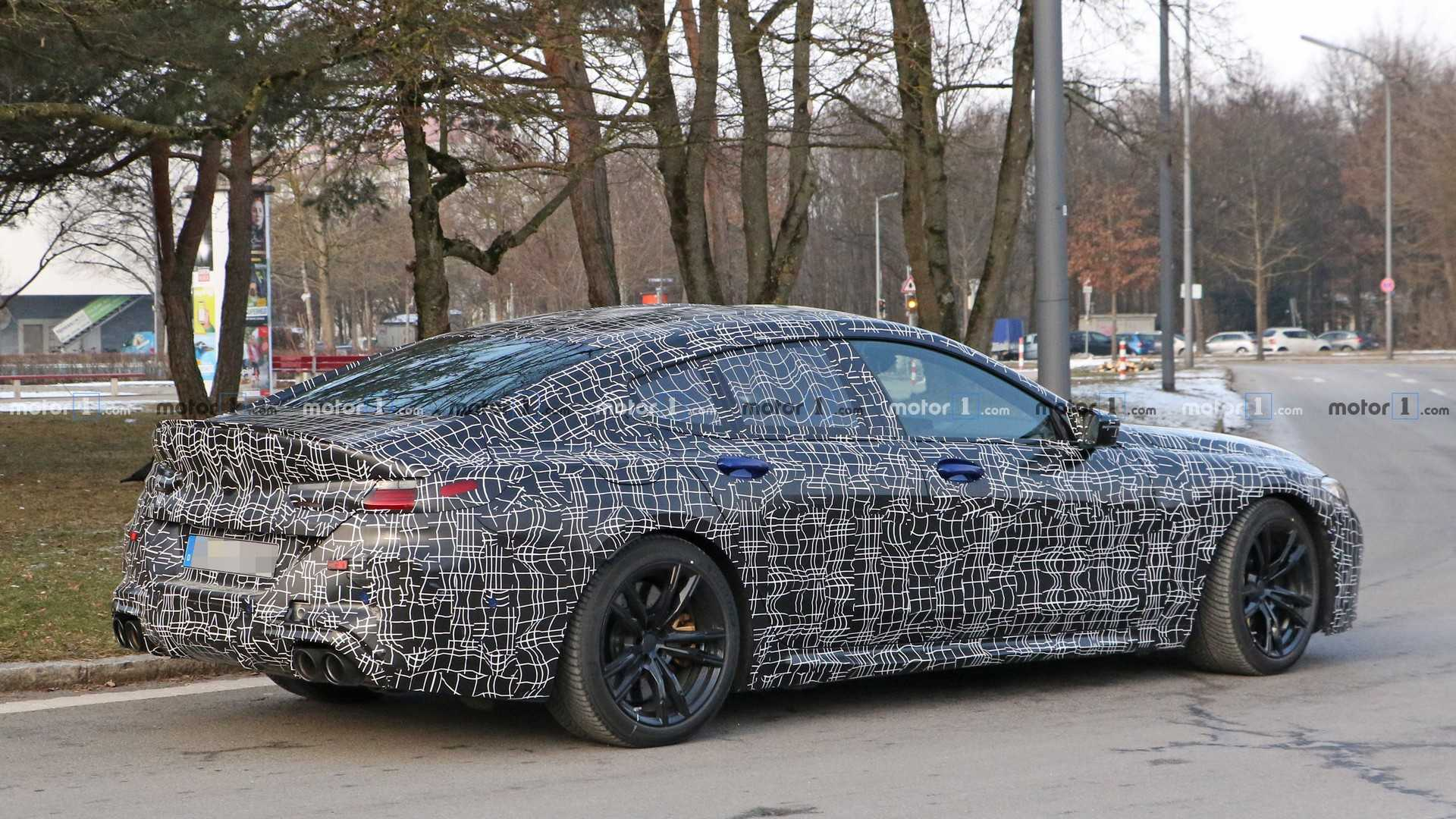 2019 - [BMW] Série 8 Gran Coupé [G16] - Page 2 Bmw-m8-gran-coupe-spy-photo