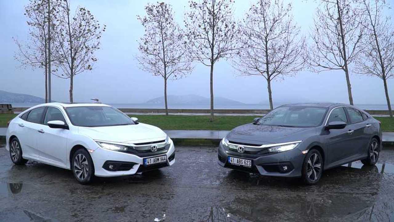 Honda Civic vs Civic