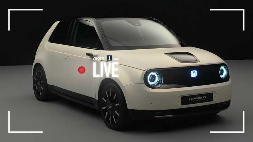 Honda e Prototype, a tu per tu con l'elettrica dal look vintage