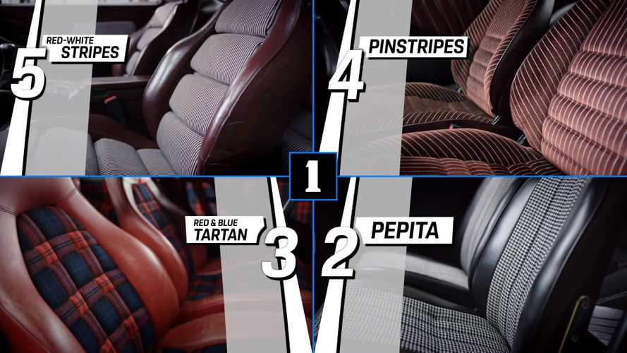 Here Are The Five Fanciest Seat Patterns Ever Used By Porsche