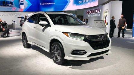 Vídeo: Novo Honda HR-V Touring revela novo painel digital em Detroit