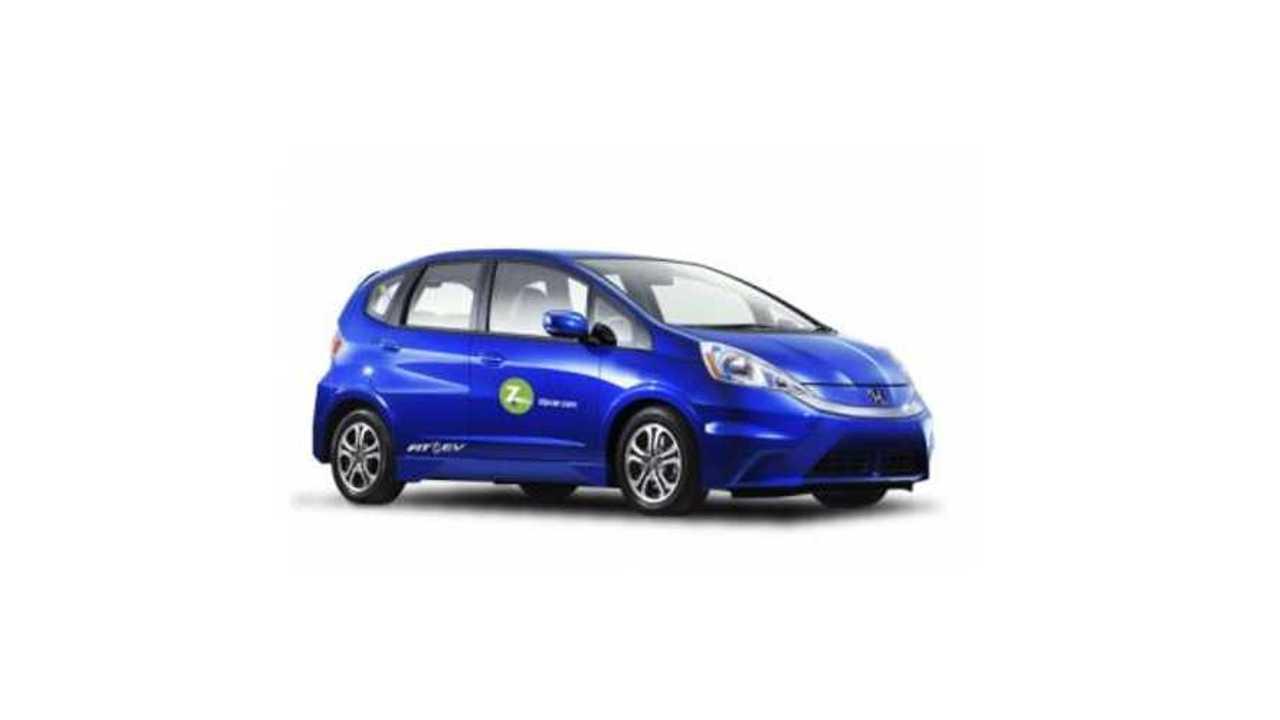 Zipcar Adds Honda Fit EV To Portland Fleet