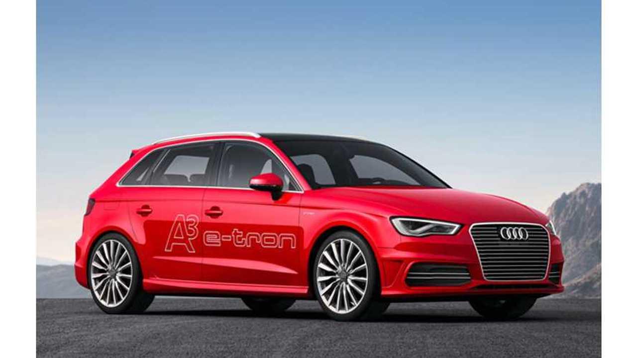 Audi A3 e-tron Plug-In Hybrid Headed to Geneva