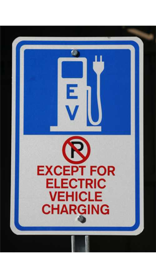 Knoxville Police Take Action by Enforcing and Ticketing Violators of Electric Vehicle Only Parking Ordinance