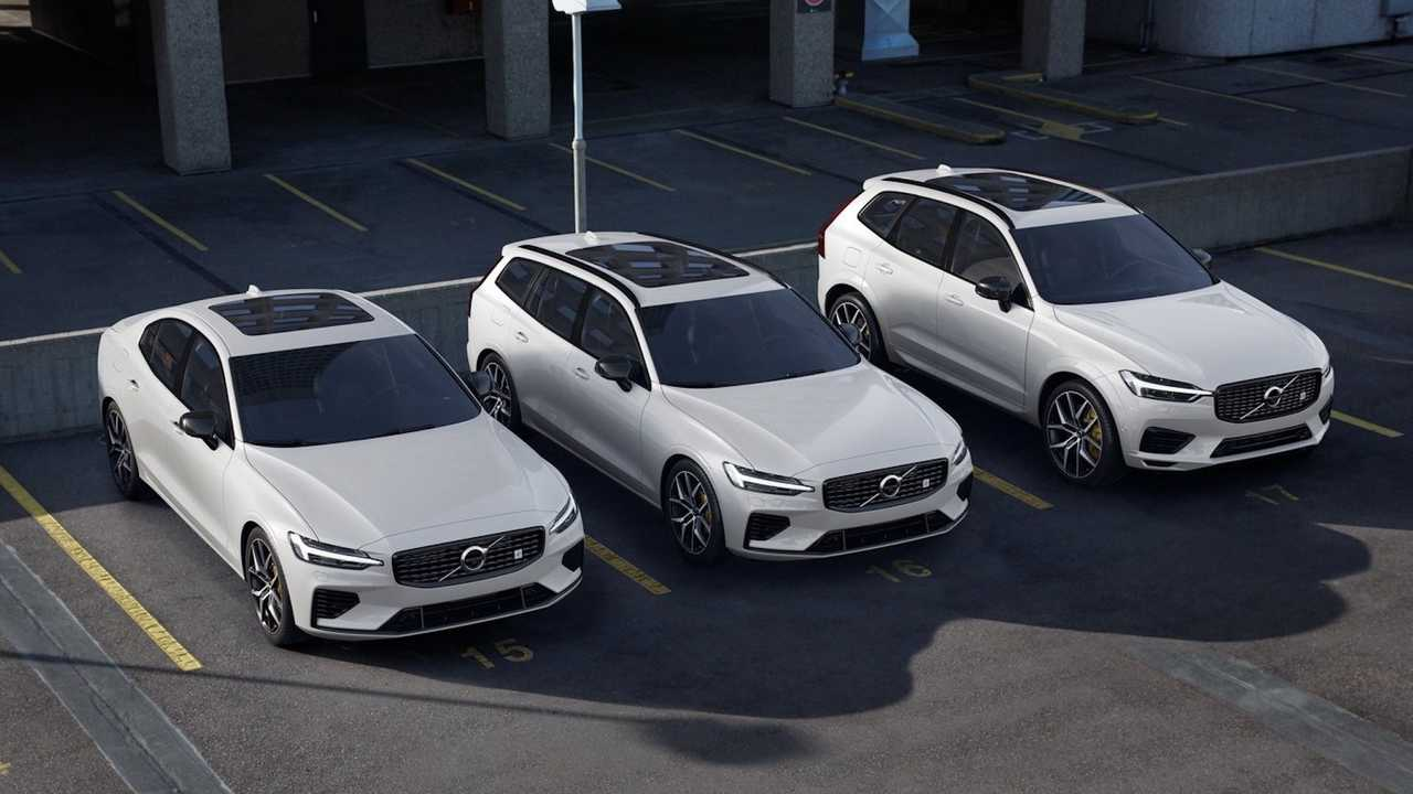 Volvo XC60 e V60 Polestar Engineered