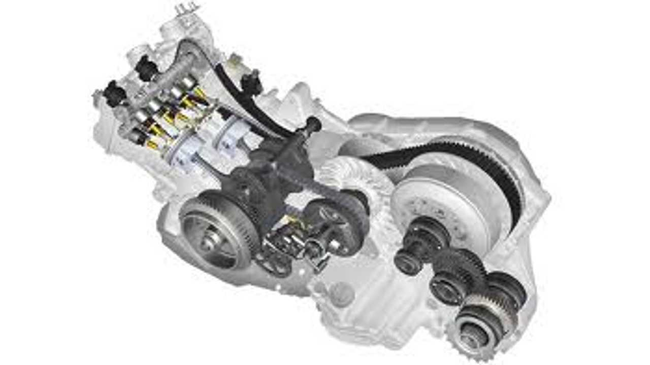 C650 engine cutaway