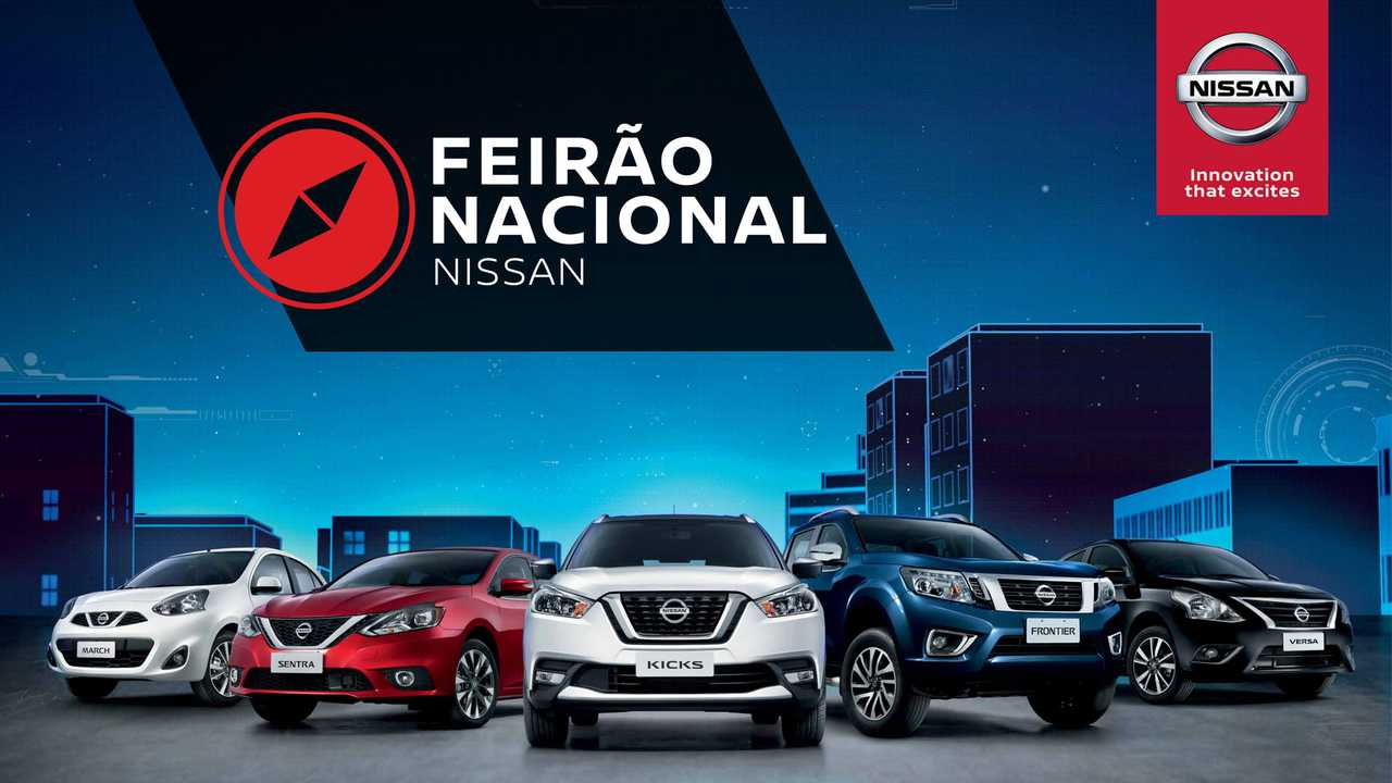 Feirão Nacional Nissan