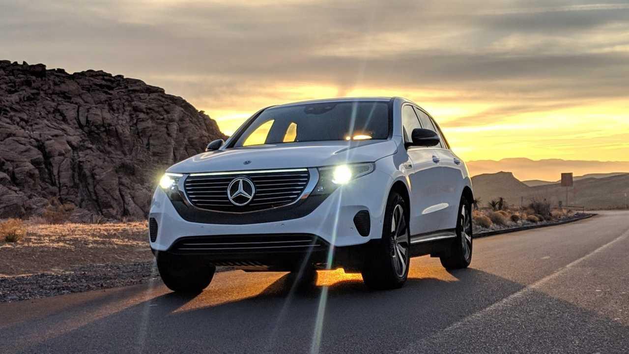 Mercedes EQC Ride