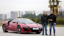 Levent touched his dreams with Honda NSX
