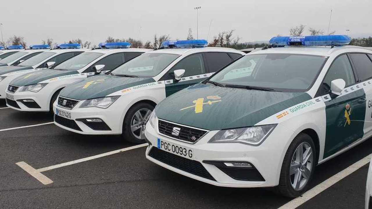 SEAT León ST para la Guardia Civil