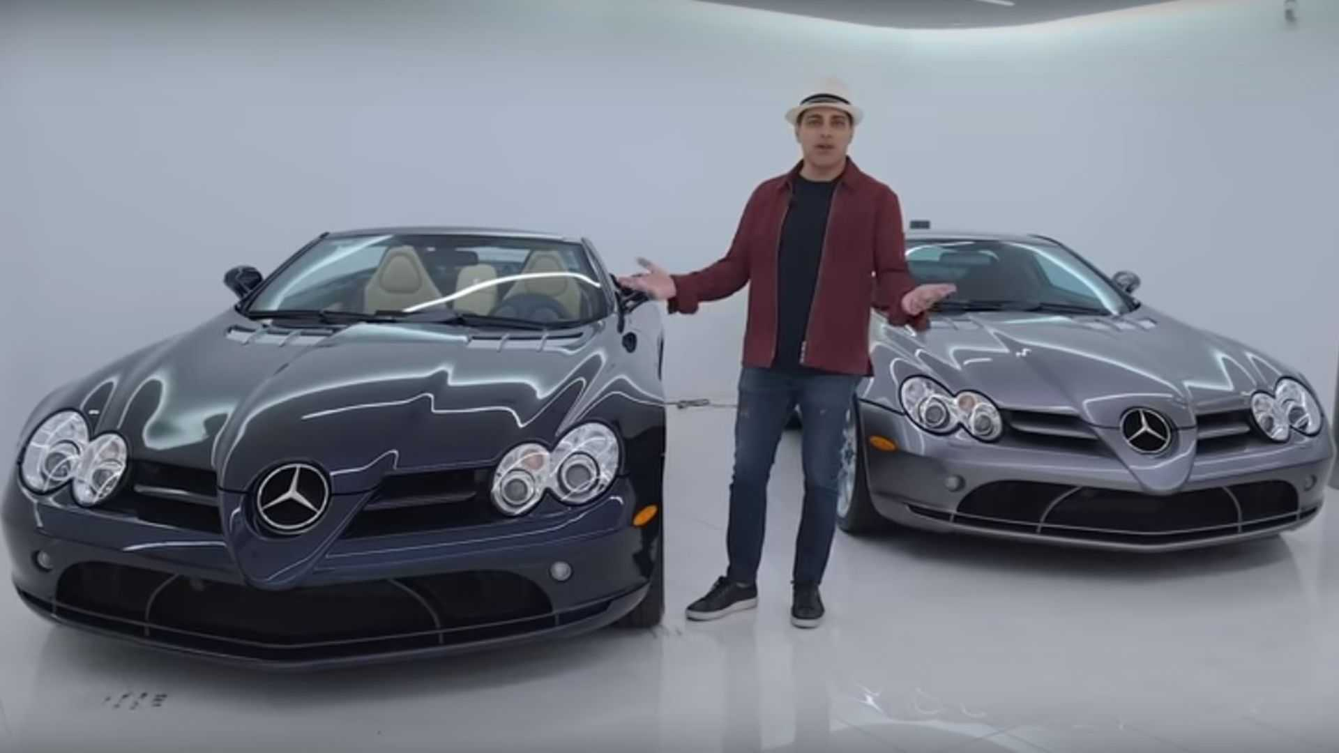 meet the man who owns five mercedes slr mclarens