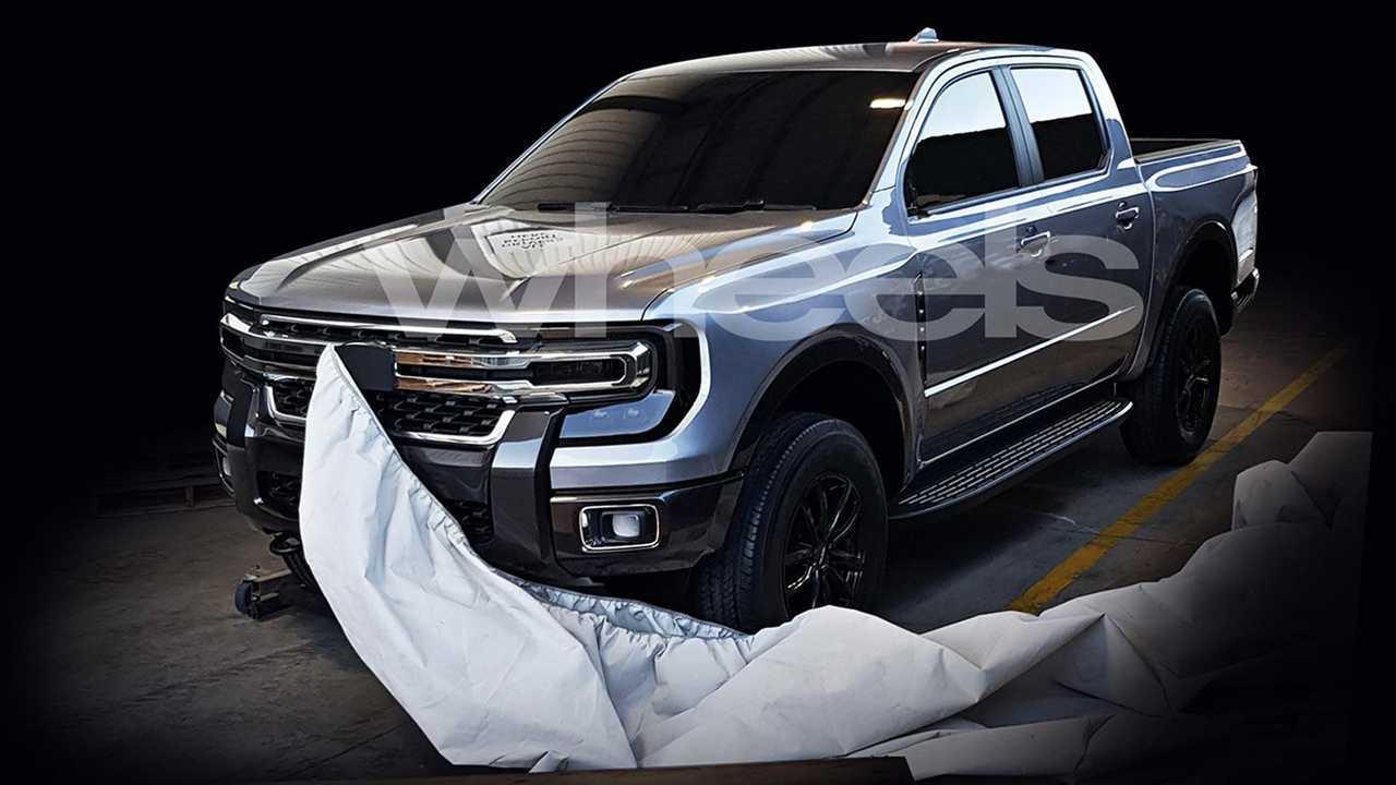 Next Gen Ford Ranger Leak