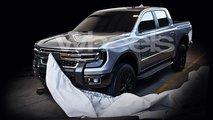 Nova geração da Ford Ranger - Imagens vazadas