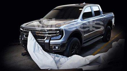 Segredo: Nova Ford Ranger 2022 vaza e revela visual inspirado na F-150