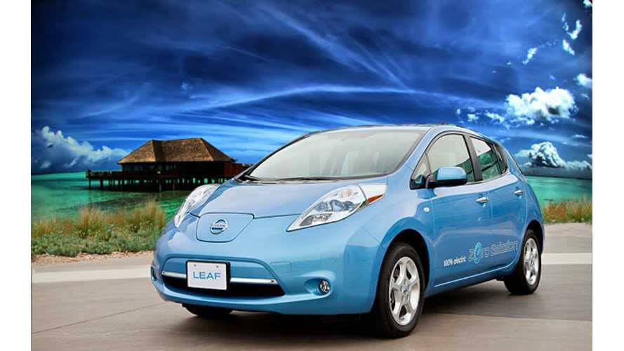 US Nissan LEAF Owner Surpasses 76,000 Miles in 24 months
