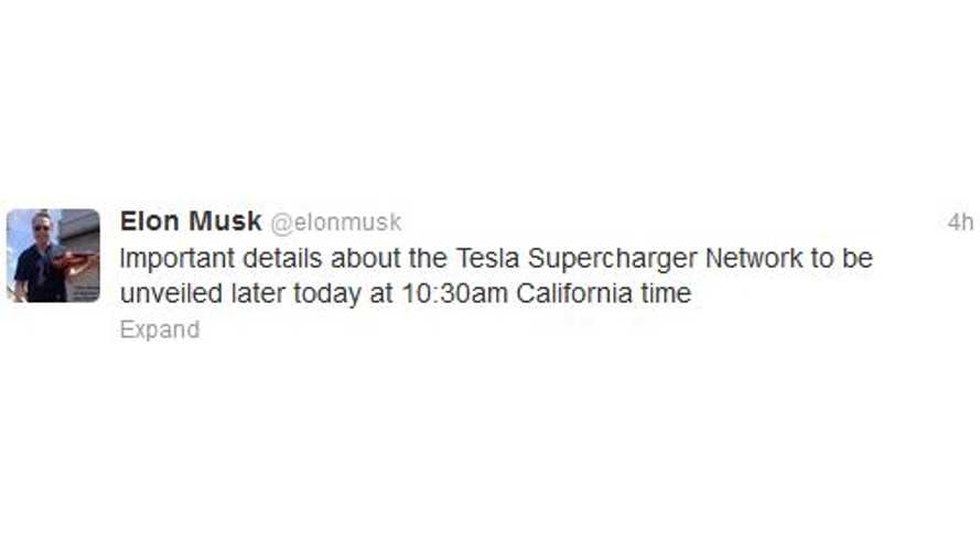 Tesla's Model S Supercharger Network to Expand From Today's 9 to ??