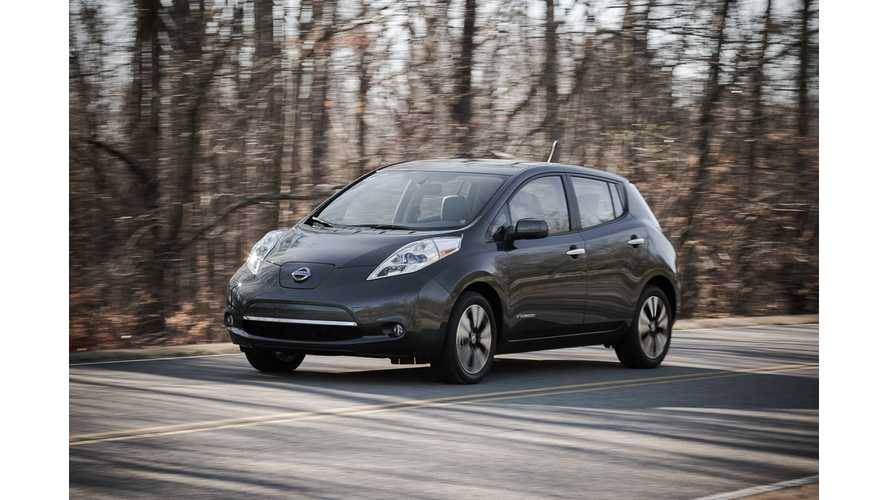 IIHS Lists Nissan LEAF a