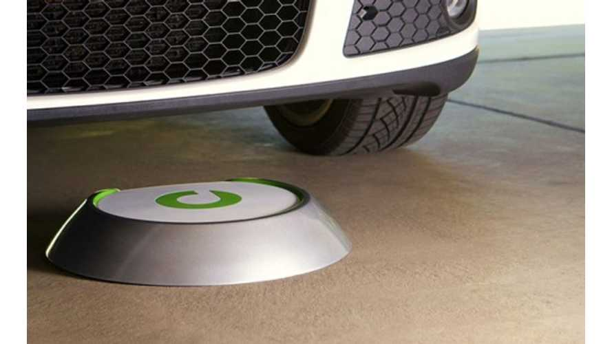 Bosch Now Taking Orders for Evatran's Plugless Level 2 Charging System; First Commercially Available Wireless Charger