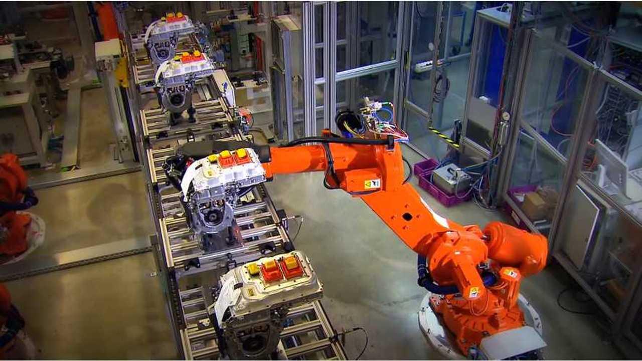 BMW i3 drivetrain production