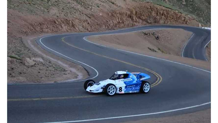 Electric Vehicles in Action at the 2013 Pikes Peak Hill Climb