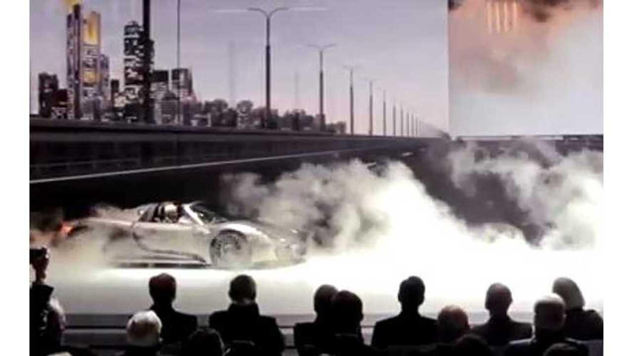 Video: Watch the Porsche 918 Spyder World Premier