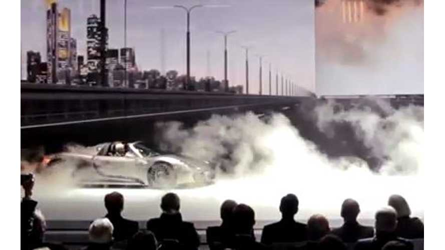 Video: Watch the Porsche 918 Spyder World Premier