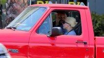 lady gaga drives ford lightning