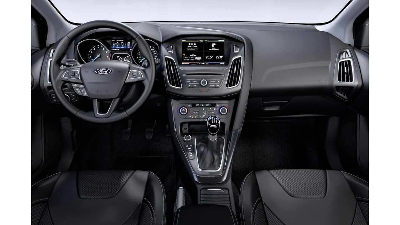 2015 Ford Focus Interior Refresh Finally Relocates Parking Brake