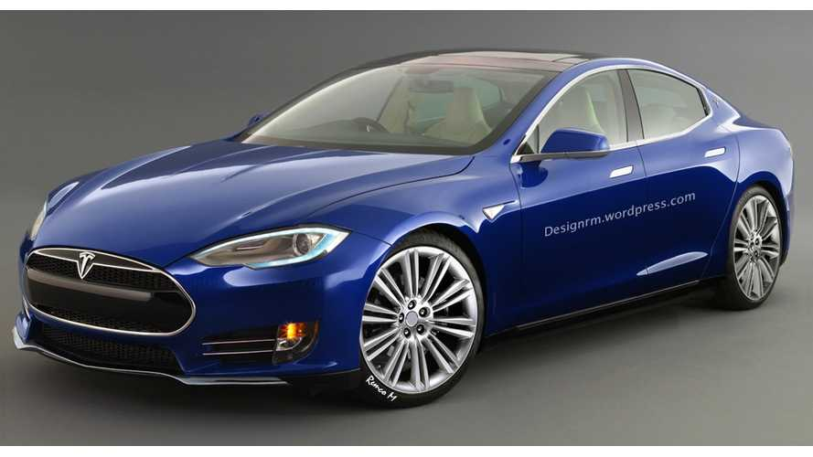 Tesla Model E (3rd Gen) Gets Rendered
