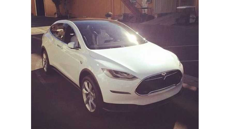 Tesla Model X Spotted on Public Road in Culver City, California