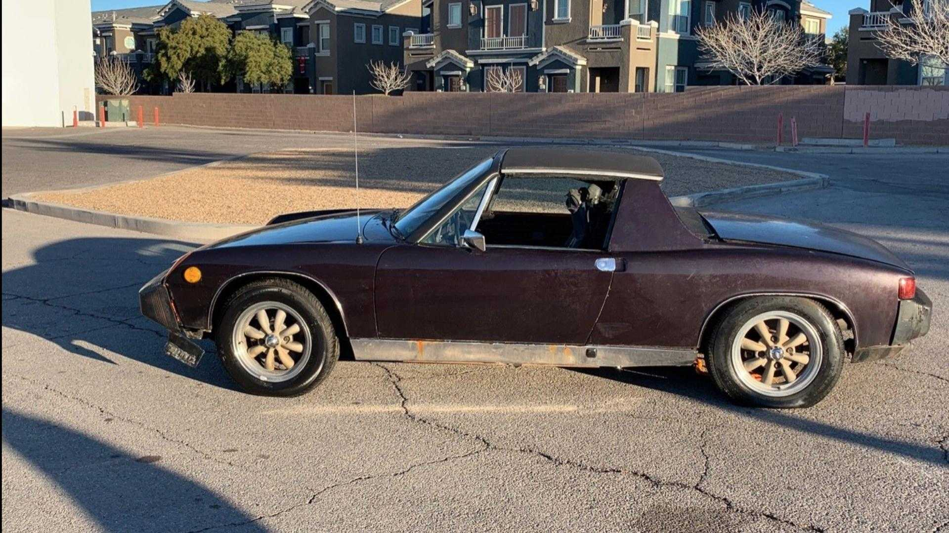 """[""""Pair of No Reserve Porsche 914s Looking for a New Home""""]"""