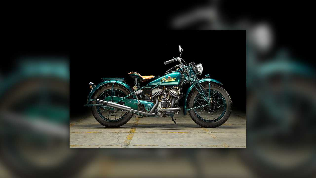 1941 Indian 741B Scout