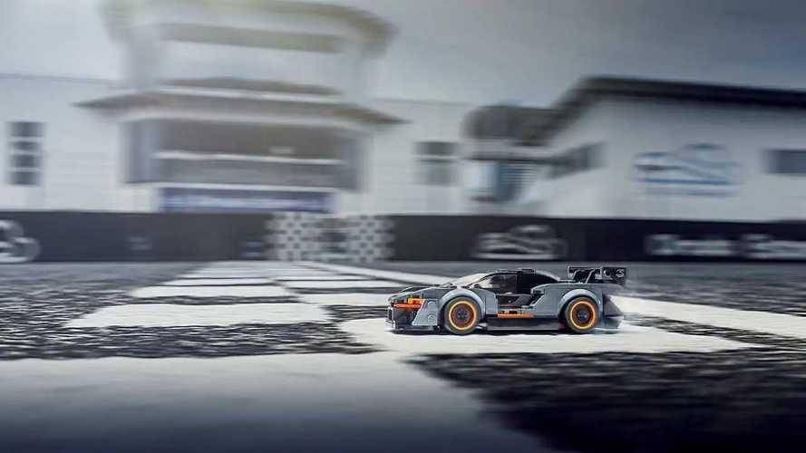 McLaren Senna, il modellino in Lego