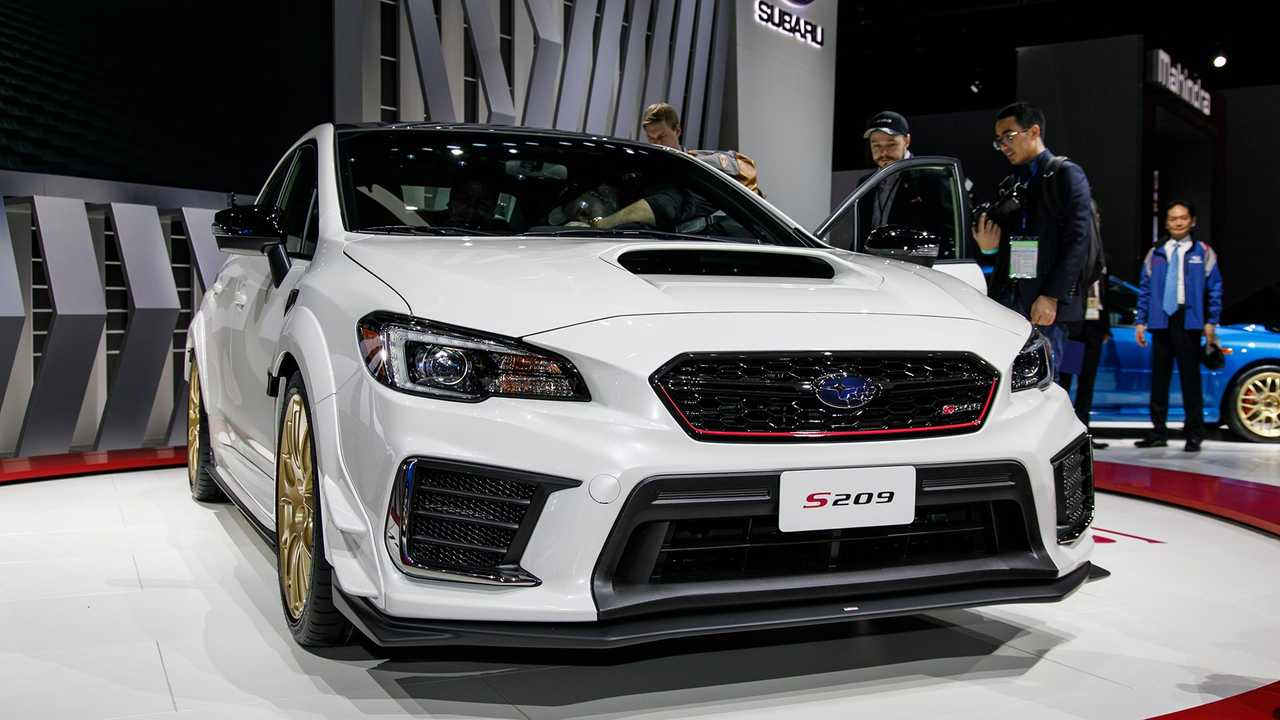 2019 Subaru STI S209 Live Photos
