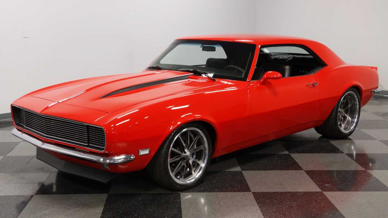 This 1968 Camaro RS Is Both The Beauty And The Beast