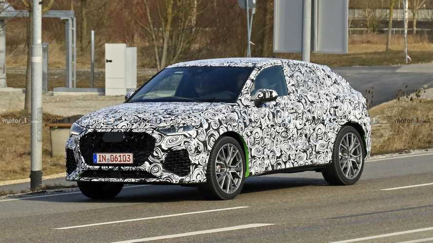 Audi RS Q4 first spy photos