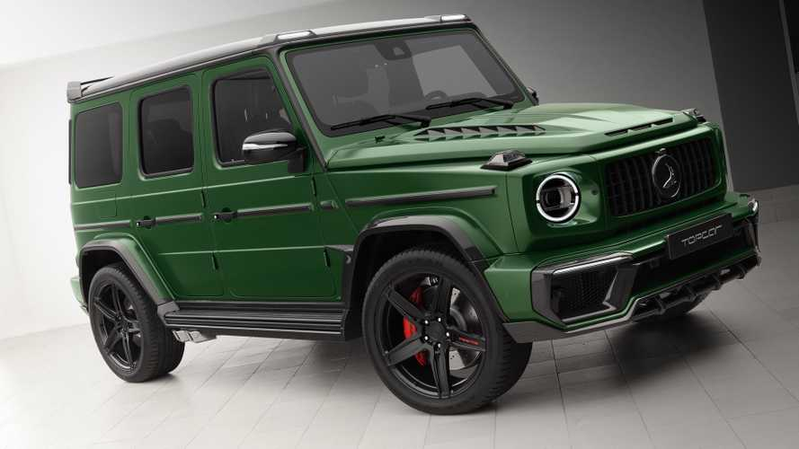 Mercedes G-Class Inferno By TopCar Looks Like The Hulk's SUV