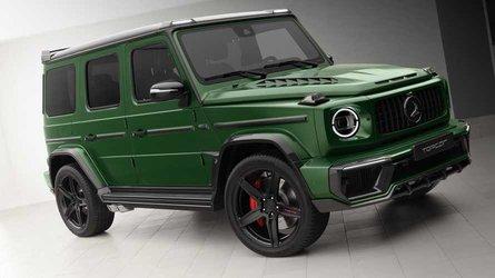 Getunte Mercedes G-Klasse Inferno sieht aus wie das SUV von Hulk