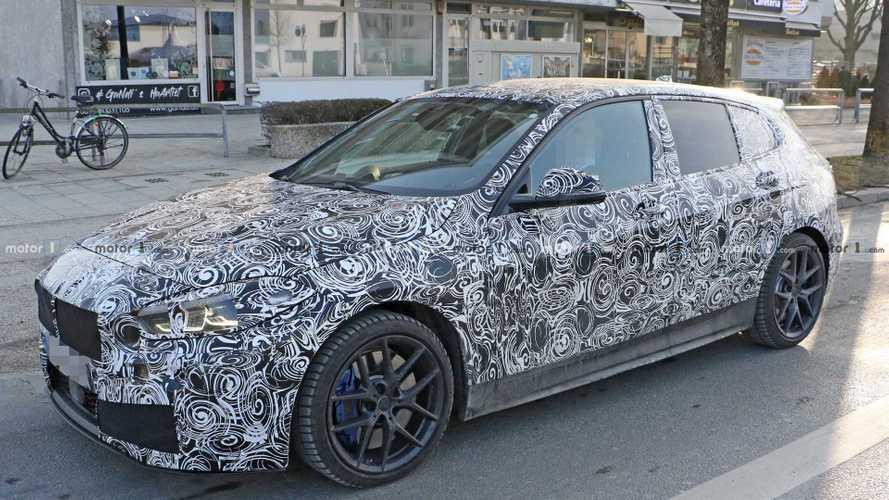 BMW Serie 1 2019: fotos espía del interior