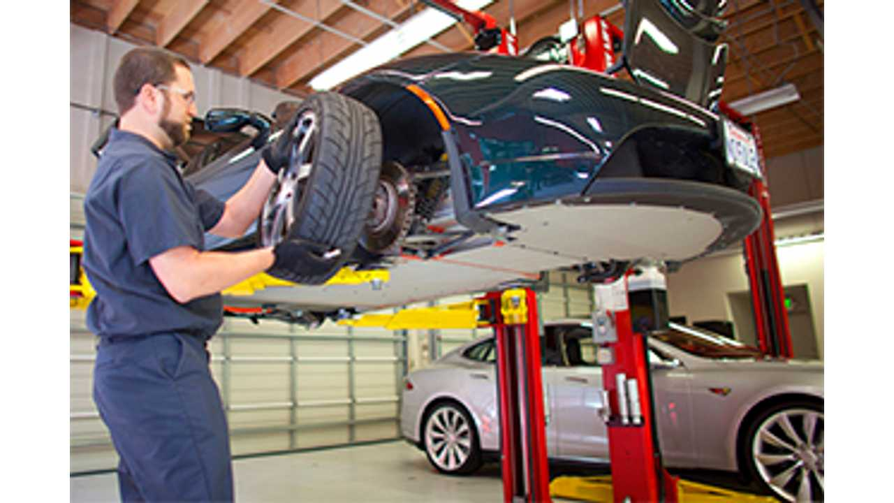 During the yearly checkup, the tech will spend hours getting to know your Tesla Model S