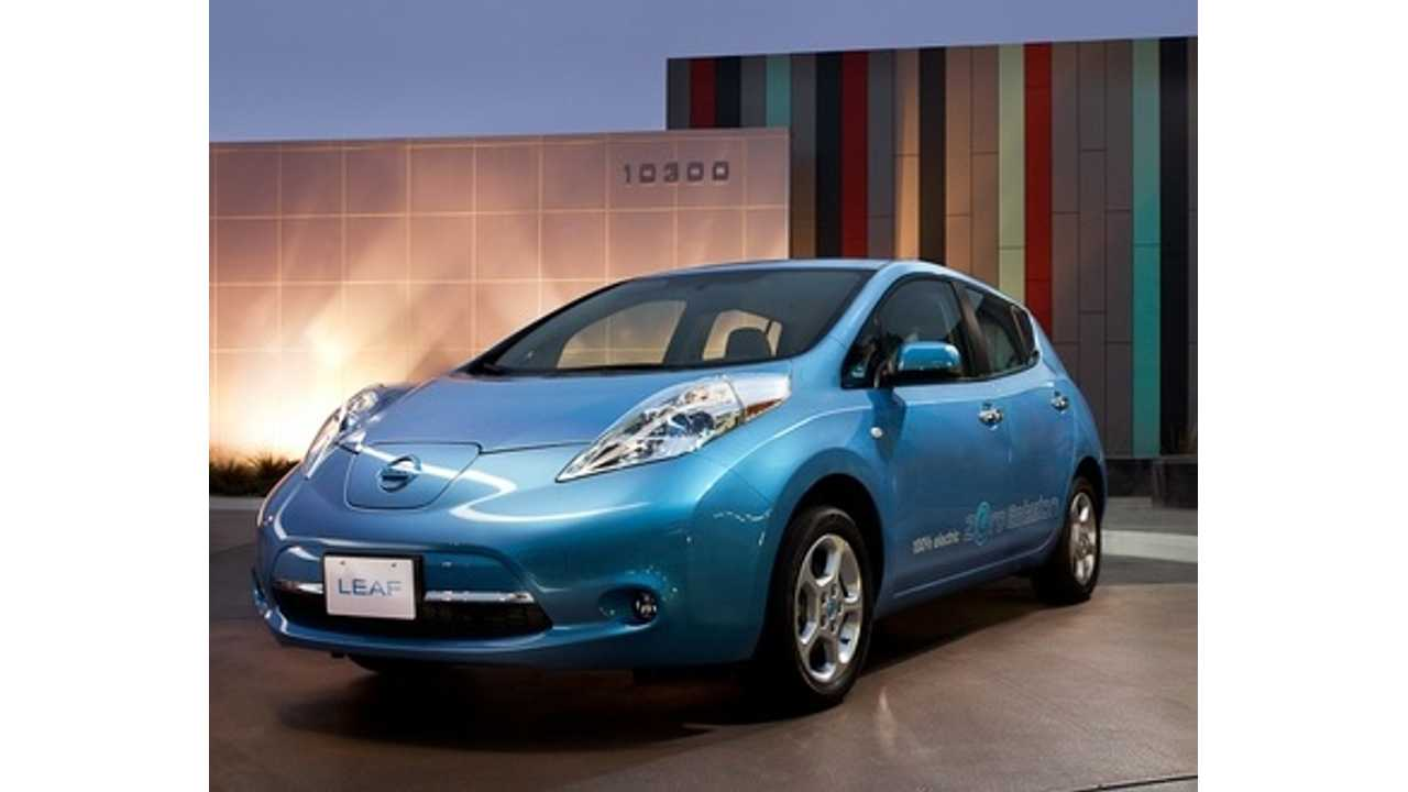 In Anticipation Of New Pricing On 2013 LEAFs Nissan Offers Up To $5,500 Off 2012s