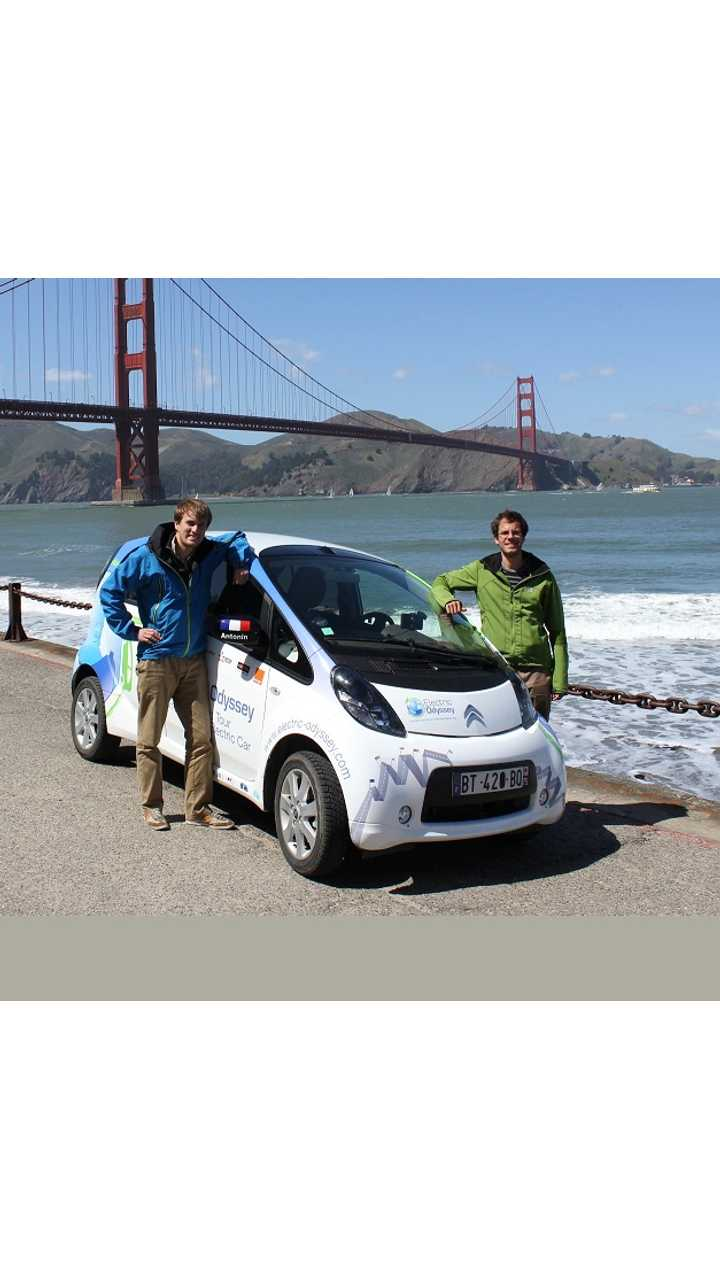 Around The World Trip In An EV Nearing Completion (Amusing Video)