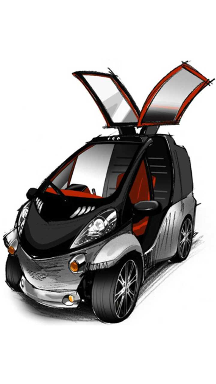 Toyota Unveils Tiny Smart INSECT Electric Car